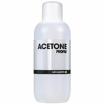 Profile Acetone Salon System 500ml Nail Tip Gel Polish Remover