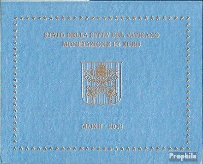Vatican Article: 2012 Official Kursmünzensatz brillant uncirculated (BU) 2012 Eu
