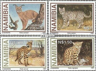 Namibia 845-848 (complete issue) unmounted mint / never hinged 1997 small Predat