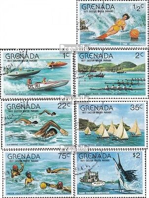 Grenada 832-838 (complete issue) used 1977 Water