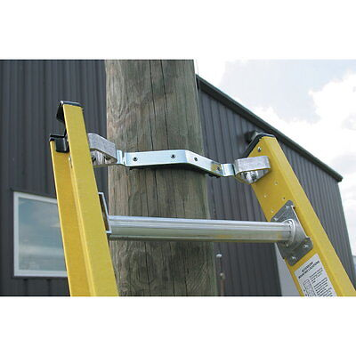 Werner 71-1 - Padded Fixed V Rung Kit - Fits Fiberglass Extension Ladder Cable