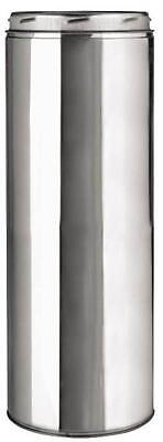 "New Selkirk 206012 6"" X 12"" Sure-Temp Insulated Stove Chimney Pipe 7434509"