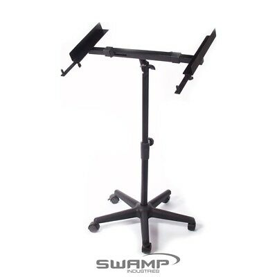 SWAMP Versatile Mixing Desk Stand - Tripod Wheel Base - Adjustable Height