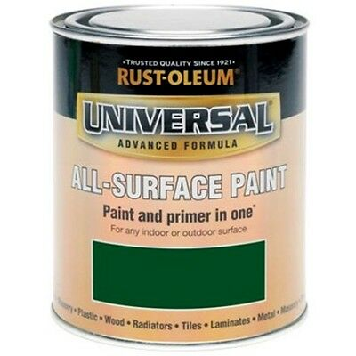 Rust-Oleum Universal All Surface Brush Paint and Primer Racing Green Gloss 750ml
