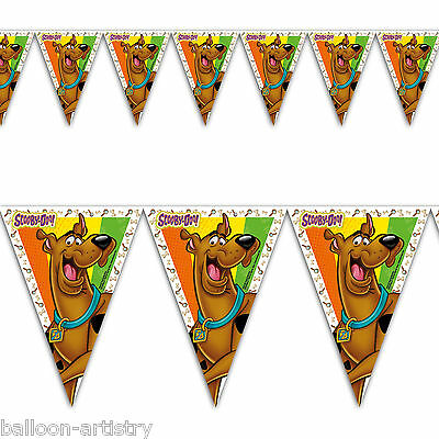 Scooby Doo Mystery Machine Birthday Party Flag Banner Bunting Decoration
