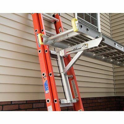 Werner AC10-20-02 Aluminum Long Body Ladder Jacks (Set of 2 - 1 Pair)