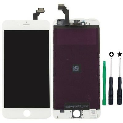 "LCD Display + Touch Screen Lens Digitizer Assembly for iPhone 6 plus 5.5"" white"