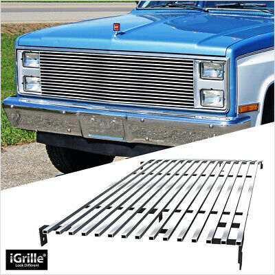 For 81-87 Chevy Blazer/C/K/Suburban/GMC Stainless iGrille Billet Grill