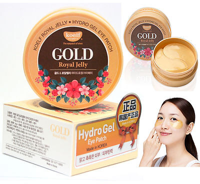 Koelf // Gold Royal Jelly Hydro Gel Eye Patch 60pcs(30pairs) / Korean Cosmetics