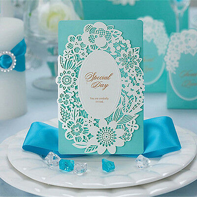 50 Wedding Invitation Cards with Envelopes Seals, Custom Personalized Printing
