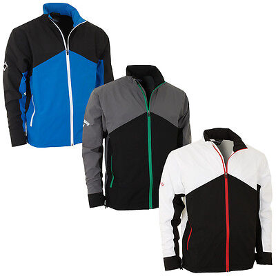 56% OFF RRP Callaway Golf 2015 Mens Tour 2.0 Waterproof Jacket Full Zip