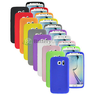 Lot of 10 Silicone Soft Slim Rubber Gel Case Cover for Samsung Galaxy S6 Edge