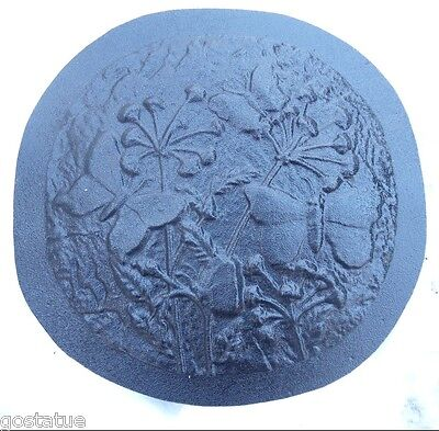 Peace with butterfly plaque mold plastic mold concrete mold plaster