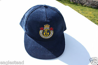 Ball Cap Hat - Canada Hydrographic Service Marine Nautcal Survey Anchor (H1325)