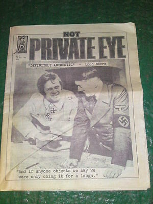 VERY RARE - NOT PRIVATE EYE #1 - Dec 10 1986