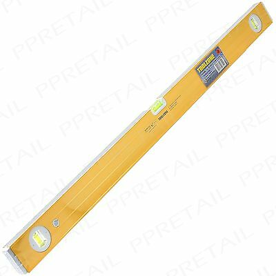 "36"" Ribbed Spirit Level LARGE 900MM Heavy Duty Metal 3 Vial Vertical Horizontal"