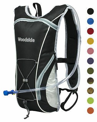 Woodside 2 Litre Cycling/Running Hydration Pack/Backpack/Rucksack Bladder Bag