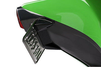 08-13 Kawasaki Ninja 250R Textured Black Fender Eliminator Kit