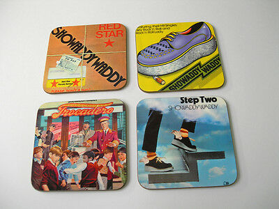 Showaddywaddy Album Cover Drinks COASTER Set