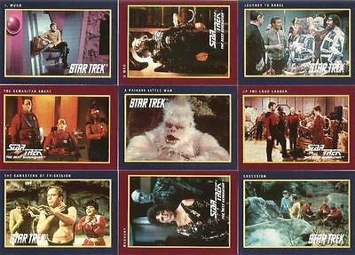 Star Trek 25th Anniversary Series 2 Full 150 Card Base Set Trading Cards - Impel