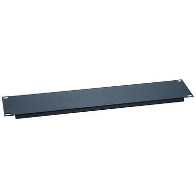 "One Space 1U - EIA 19"" Blank Network IT Rack Mount Server Panel Filler Spacer"