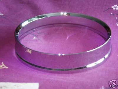 SPEEDOMETER CHROME BEZEL , MINI Mk1 & 2 WITH CURVED GLASS