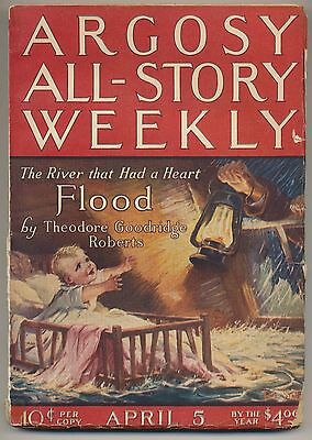 Argosy All-Story Weekly April 5, 1924 Vintage Pulp Magazine Very Good