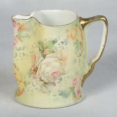 Royal Bayreuth Rose Tapestry Small Milk Pitcher - Ca. Early 1900's