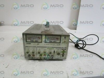 Leader Dc Tracking Power Supply Lps 152 *used*