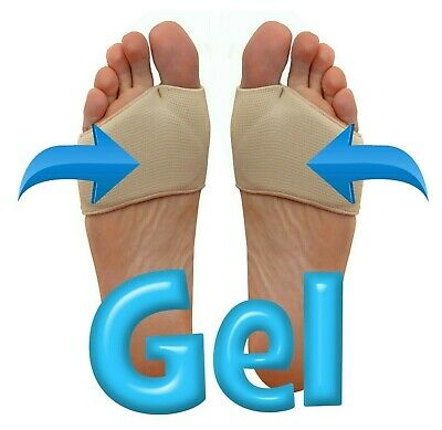 Metatarsal Gel Cushion - Ball of Foot Pad Shock Absorbing Pain Morton Neuroma