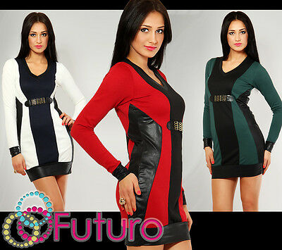 Exclusive High Quality Crew Neck Dress Bodycon Party Style Long Sleeve FC4117