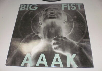 Aaak - Big Fist - Kk Records - Lp Made In Belgium - Ebm - Nm/ex- 1990 -