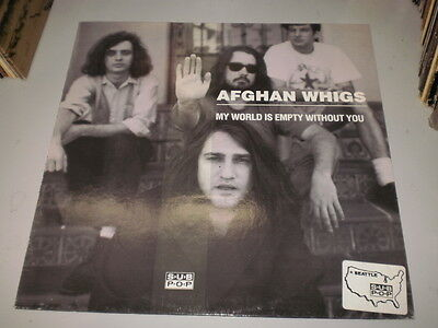 """Afghan Whigs - My World Is Empty Without You - 12"""" - Sub Pop Records - 1991 -"""
