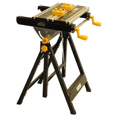 Portable Mitre Saw Stand Tilting Height Adjustable Workmate Folding Work Bench