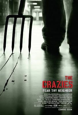 "THE CRAZIES ""B"" 11x17 PROMO MOVIE POSTER"