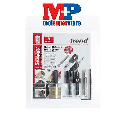 Trend SNAP/PC10/SET SNAPPY PLUG CUTTER NO 10 SCREW SET