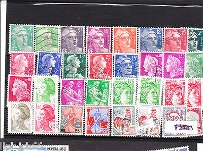 France stamped off beautiful stamps 861 C
