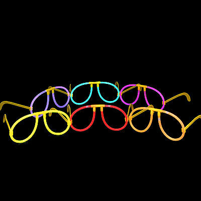 Glowstick Neon Bright Glow In The Dark Glasses Party Favor Rave Stick Light Up