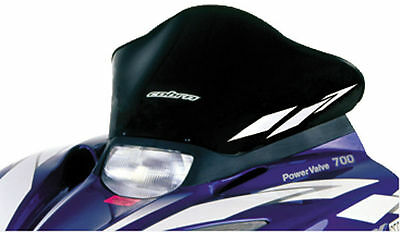Powermadd - 14120 - Cobra Windshield, 12.5in. - Black/White Graphics`