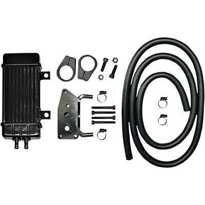 Jagg Oil Coolers - 760-2000 - Vertical 10 Row Oil Cooler, Wideline - Black`