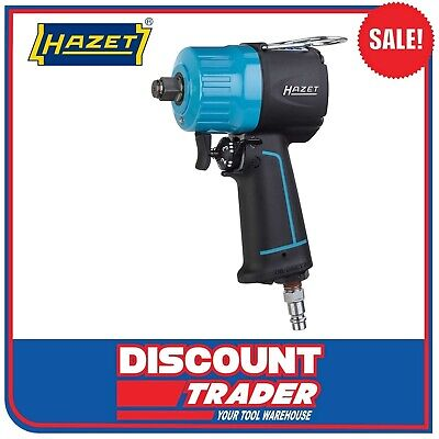 "HAZET Air Pneumatic 1/2"" Compact Impact Wrench Extra Short 1400Nm - 9012MT"