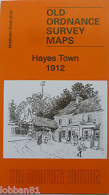 Old Ordnance Survey Detailed Map Hayes Town Middlesex 1912  Sheet 15.09 New