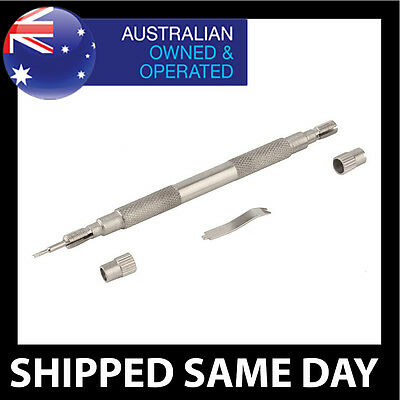 DELUXE  WATCHMAKERS SPRING BAR PIN REMOVER TOOL Link Watch Band Strap Repair