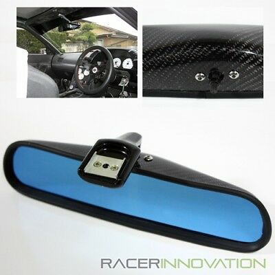 For 06-11 Civic Coupe/Sedan FG2/FD2 REAL Carbon Fiber Squoval Rearview Mirror