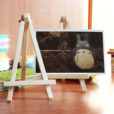 Wood Easel Wedding Table Number Place Name Card Phone Stand Display Holder DIY