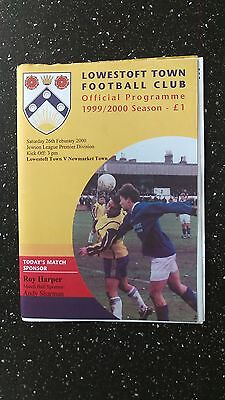 Lowestoft Town V Newmarket Town 1999-00.