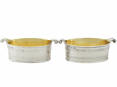 Antique George III Sterling Silver Salts by John Emes