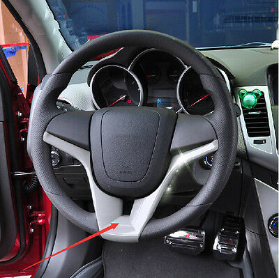 Silver Chrome Steering wheel mounted trim For Chevrolet Cruze 2009-2014 Perfect
