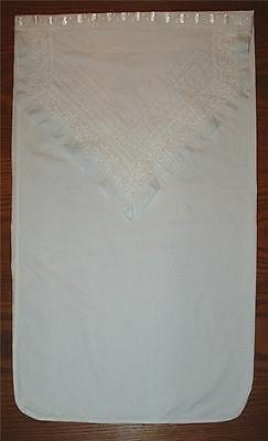 """Beautiful Antique Hand-Made 26"""" By 16"""" Baby Linens/ladies Underlings Storage Bag"""