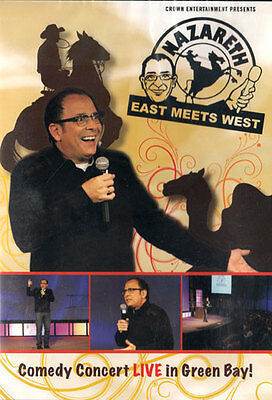 NEW Sealed Christian Comedy DVD! Nazareth - East Meets West (LIVE in Green Bay)
